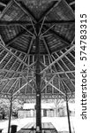 monochrome photo at horseshoe... | Shutterstock . vector #574783315