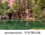 Hanging Lake In The Colorado...