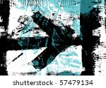 grunge background with arrow | Shutterstock .eps vector #57479134