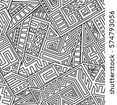 unique geometric vector... | Shutterstock .eps vector #574793056