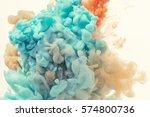 ink drop in water | Shutterstock . vector #574800736