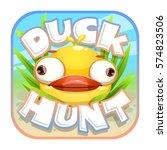 duck hunt sticker. app icon...