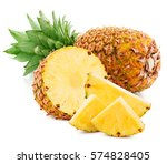 Pineapple Fruit With Slices...