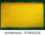 door shutter for shop | Shutterstock . vector #574835218