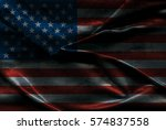 usa flag background | Shutterstock . vector #574837558