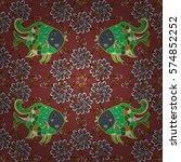 mandalas background. colorful... | Shutterstock .eps vector #574852252