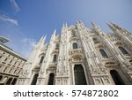 The Duomo Cathedral In Milan...