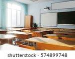 interior of a school class   Shutterstock . vector #574899748