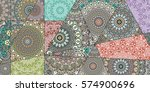 Vector Patchwork Quilt Pattern...