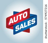 auto sales arrow tag sign. | Shutterstock .eps vector #574927216