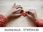 heart broken love mend bandage   Shutterstock . vector #574954138