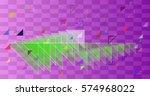 geometric pattern vector | Shutterstock .eps vector #574968022