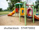 play ground colorful big... | Shutterstock . vector #574973002