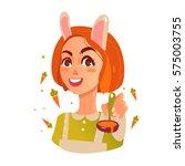 mama bunny | Shutterstock .eps vector #575003755