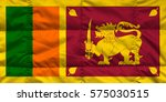 flag of sri lanka | Shutterstock . vector #575030515