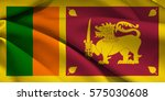 flag of sri lanka | Shutterstock . vector #575030608