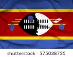 flag of swaziland | Shutterstock . vector #575038735