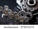 machinery concept. set of... | Shutterstock . vector #575072272