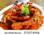 chilli crab | Shutterstock . vector #575074906