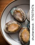 Small photo of Vertical shooting Frozen abalone