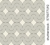 vector seamless pattern. modern ... | Shutterstock .eps vector #575077192