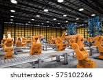 automation industry concept... | Shutterstock . vector #575102266