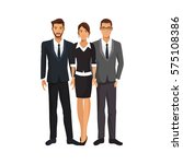 businesspeople cartoon icon | Shutterstock .eps vector #575108386