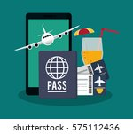 travel and tourism design | Shutterstock .eps vector #575112436