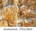 stone texture underground. | Shutterstock . vector #575119825