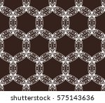 abstract repeat backdrop.... | Shutterstock .eps vector #575143636