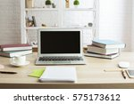 front view of creative designer ... | Shutterstock . vector #575173612