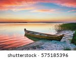 Sunset On The Lake  Fishing...