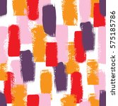 abstract pattern with colorful... | Shutterstock . vector #575185786