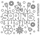 Coloring Page. Vector...