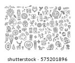 set of ethnic design elements   Shutterstock .eps vector #575201896