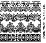 vector set with baroque...   Shutterstock .eps vector #575211136