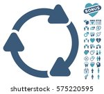 rotate cw pictograph with bonus ... | Shutterstock .eps vector #575220595