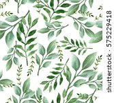 seamless watercolor pattern | Shutterstock . vector #575229418