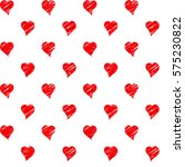 seamless pattern made of red... | Shutterstock .eps vector #575230822