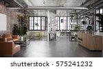 architectural office interior   ... | Shutterstock . vector #575241232
