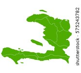 haiti green map | Shutterstock .eps vector #575243782