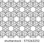 abstract repeat backdrop.... | Shutterstock .eps vector #575263252