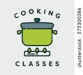 vector image of pressure cooker ... | Shutterstock .eps vector #575300386