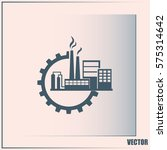 industrial icon | Shutterstock .eps vector #575314642