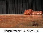 theatre stage. on the stage... | Shutterstock . vector #575325616