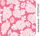 seamless pattern with... | Shutterstock .eps vector #575329162