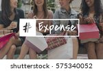 delivery expense fashion... | Shutterstock . vector #575340052