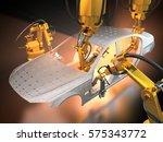 3d rendering  vehicle... | Shutterstock . vector #575343772