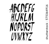 graphic font for your design.... | Shutterstock .eps vector #575364916