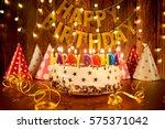 Happy Birthday Cake With...